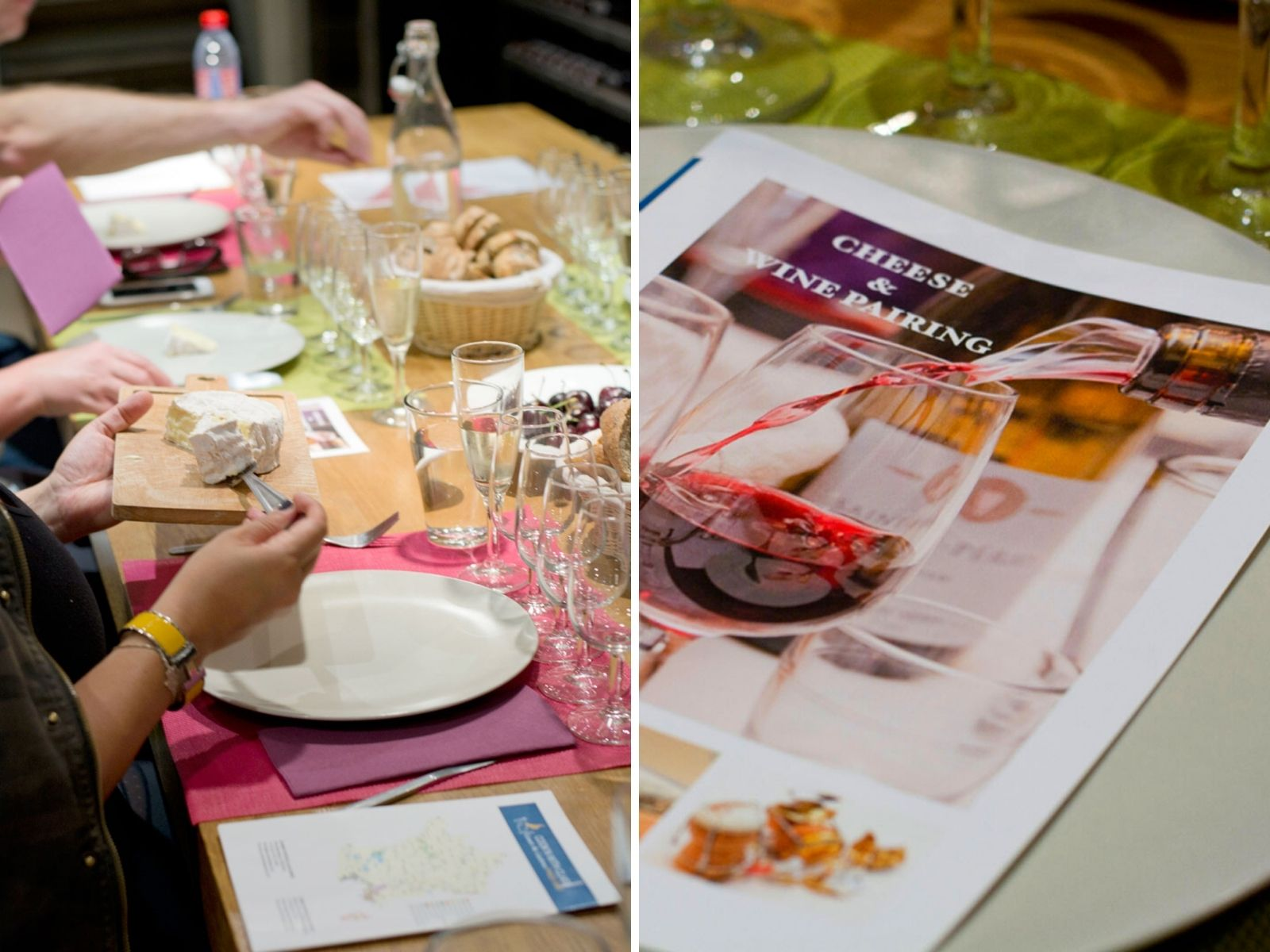 cheese & wine tasting paris