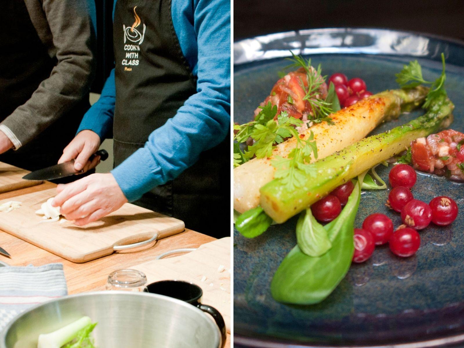 Private cooking class paris