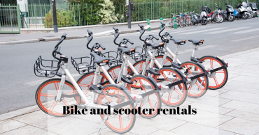 Bike and scooter rentals in Paris