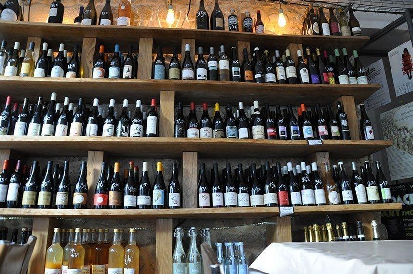 Wine shops in Paris
